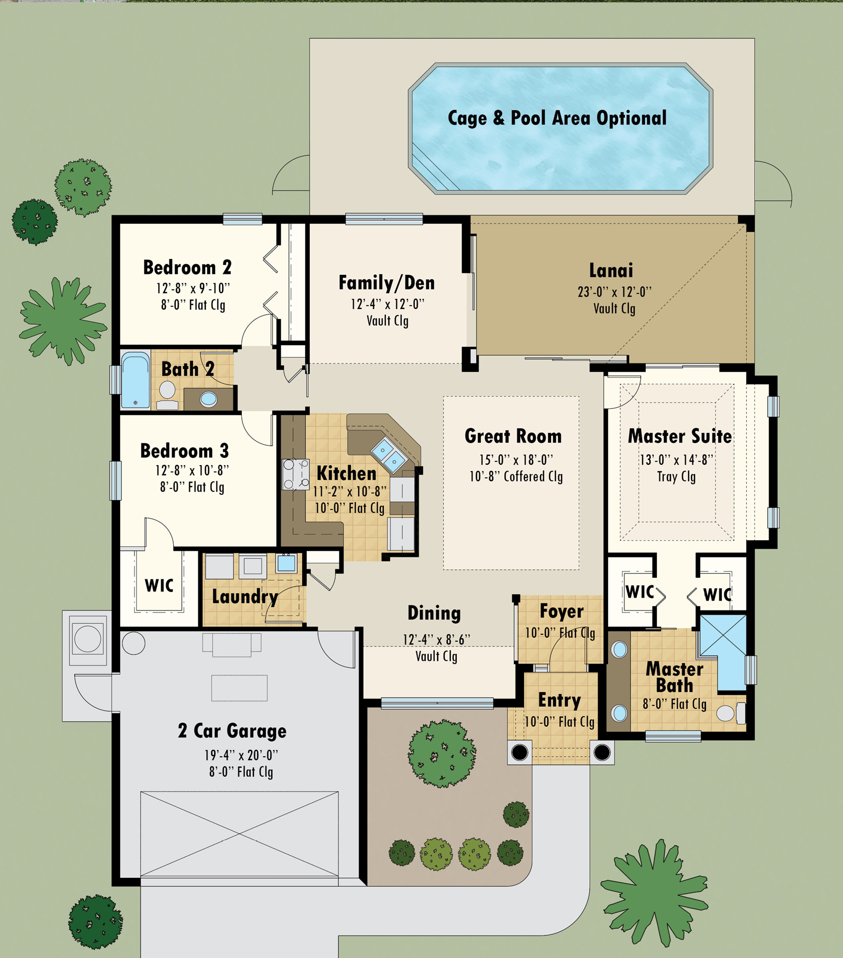 Magnolia II Floor Plan