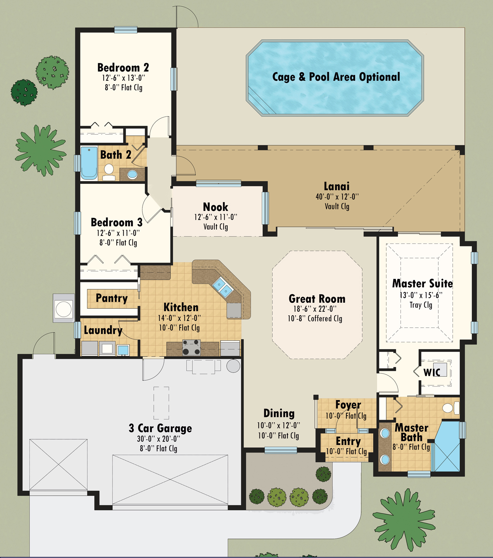 Hibiscus Floor Plan