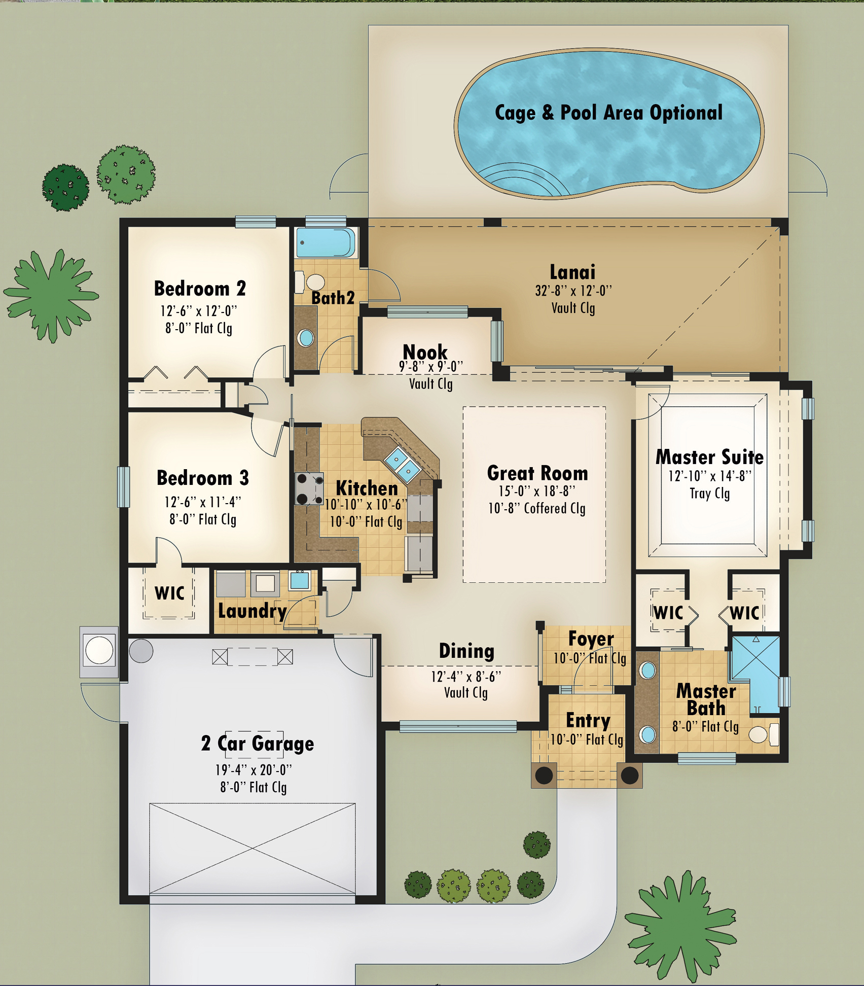 Magnolia I Floor Plan