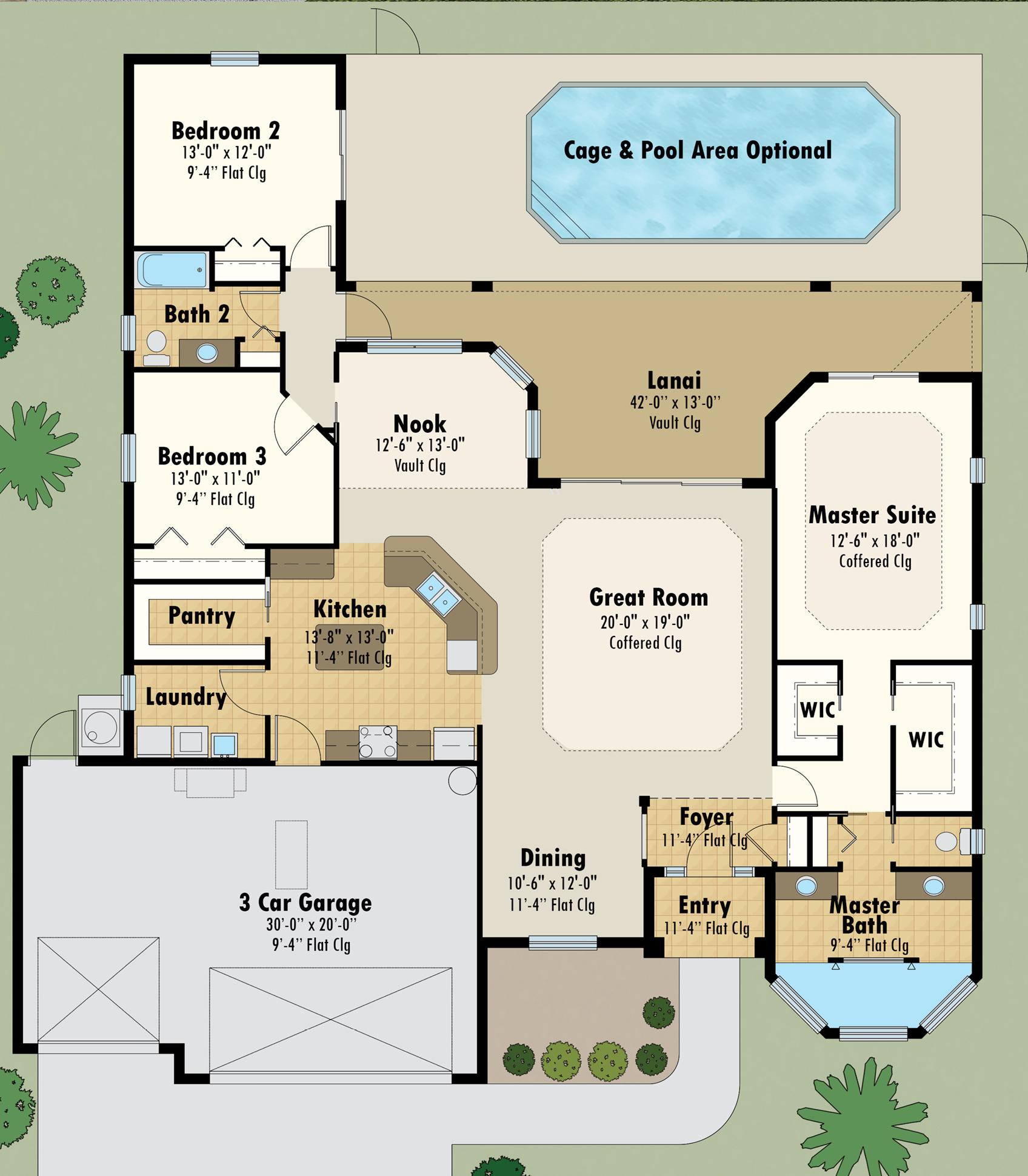 Hibiscus Floor Plan